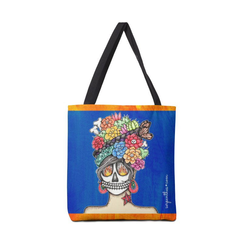 Ruiz 1980-2015 on Blue Accessories Tote Bag Bag by serpenthes's Artist Shop