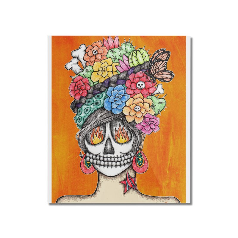 Ruiz 1980 - 2015 in Fire Home Mounted Acrylic Print by serpenthes's Artist Shop