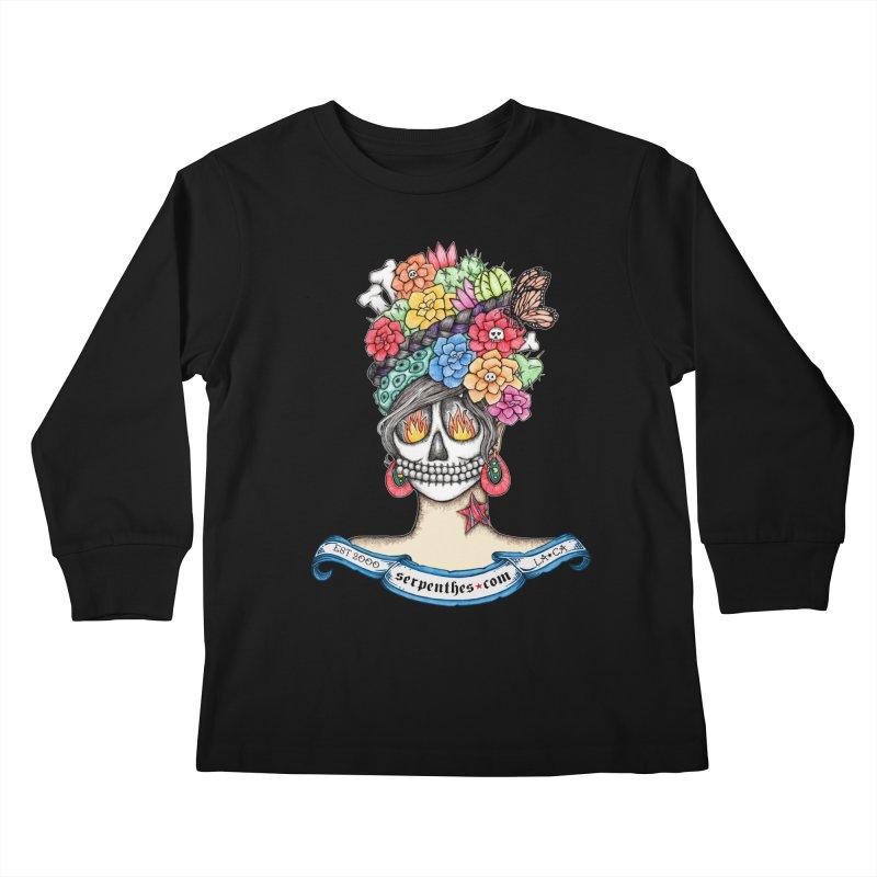 Ruiz 1980 - 2015 in Fire Kids Longsleeve T-Shirt by serpenthes's Artist Shop