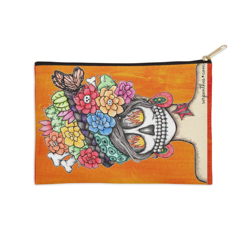 Ruiz 1980 - 2015 in Fire Accessories Zip Pouch by serpenthes's Artist Shop