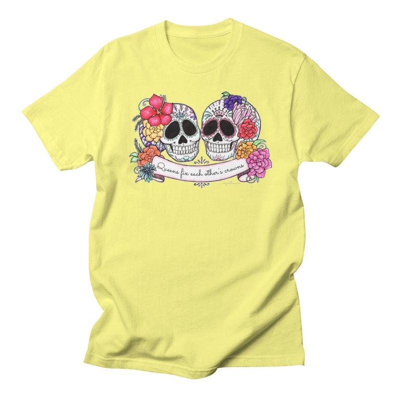 QUEENS in Noir Women's Unisex T-Shirt by serpenthes's Artist Shop