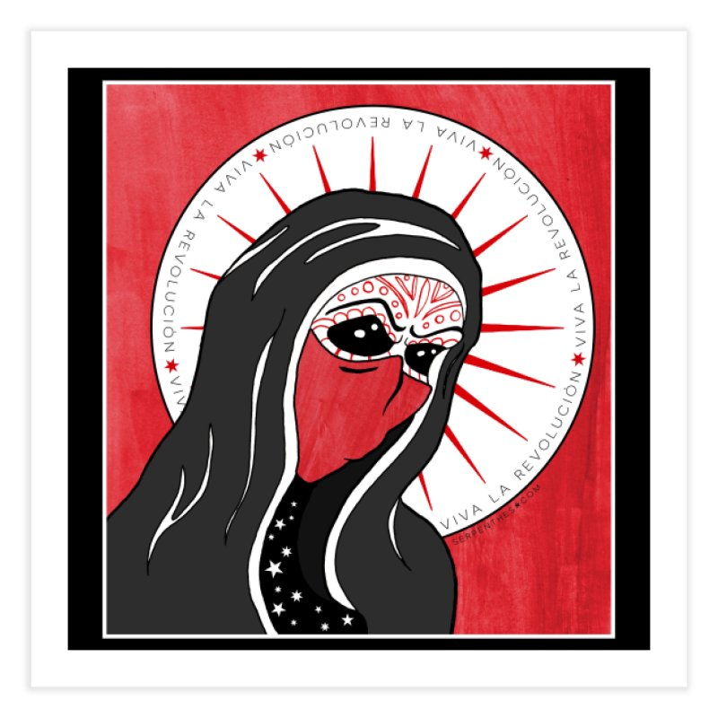 Viva La Revolución Home Fine Art Print by serpenthes's Artist Shop