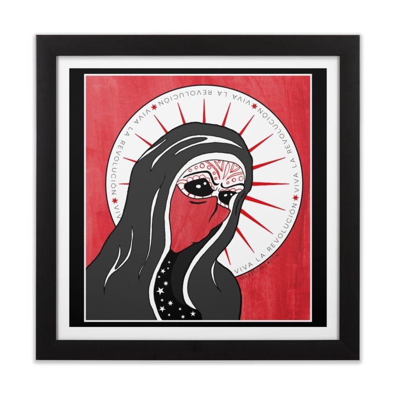 Viva La Revolución Home Framed Fine Art Print by serpenthes's Artist Shop