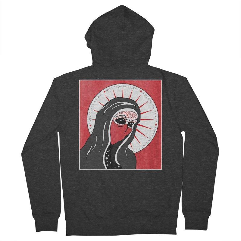 Viva La Revolución Men's Zip-Up Hoody by serpenthes's Artist Shop