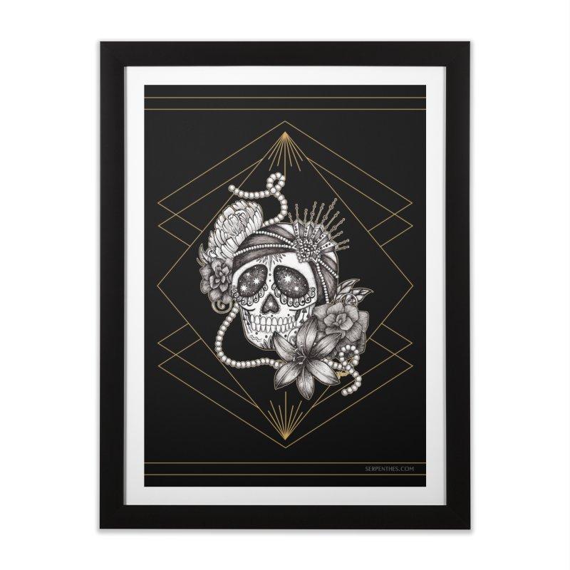 WEST EGG / Miss Daisy Home Framed Fine Art Print by serpenthes's Artist Shop
