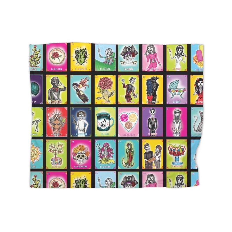 BLACK / Loteria Serpenthes, Card No. 2 Home Blanket by serpenthes's Artist Shop