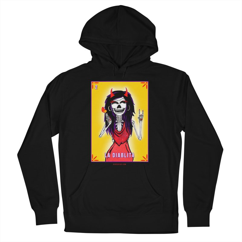LA DIABLITA / Loteria Serpenthes Tile 2 Women's French Terry Pullover Hoody by serpenthes's Artist Shop