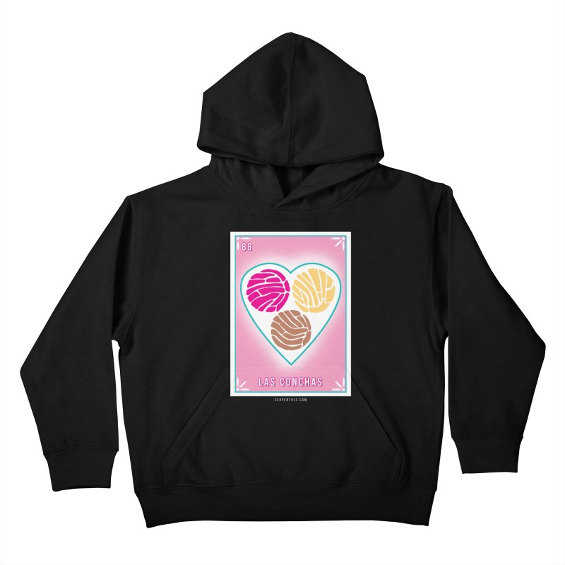 #88 LAS CONCHAS / Loteria Serpenthes Tile 88 Kids Pullover Hoody by serpenthes's Artist Shop