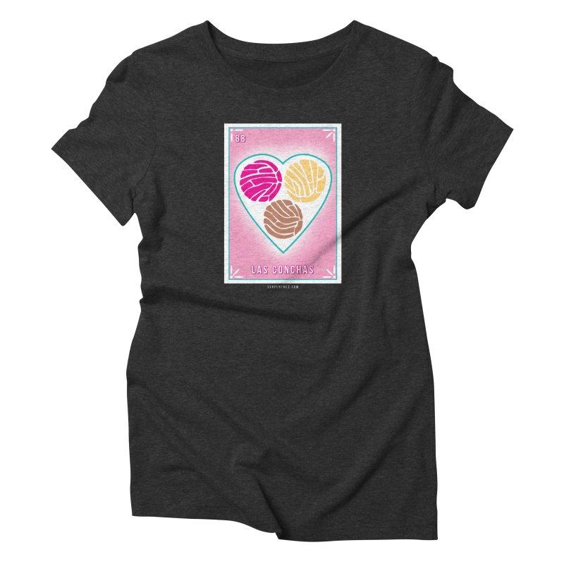 #88 LAS CONCHAS / Loteria Serpenthes Tile 88 Women's T-Shirt by serpenthes's Artist Shop