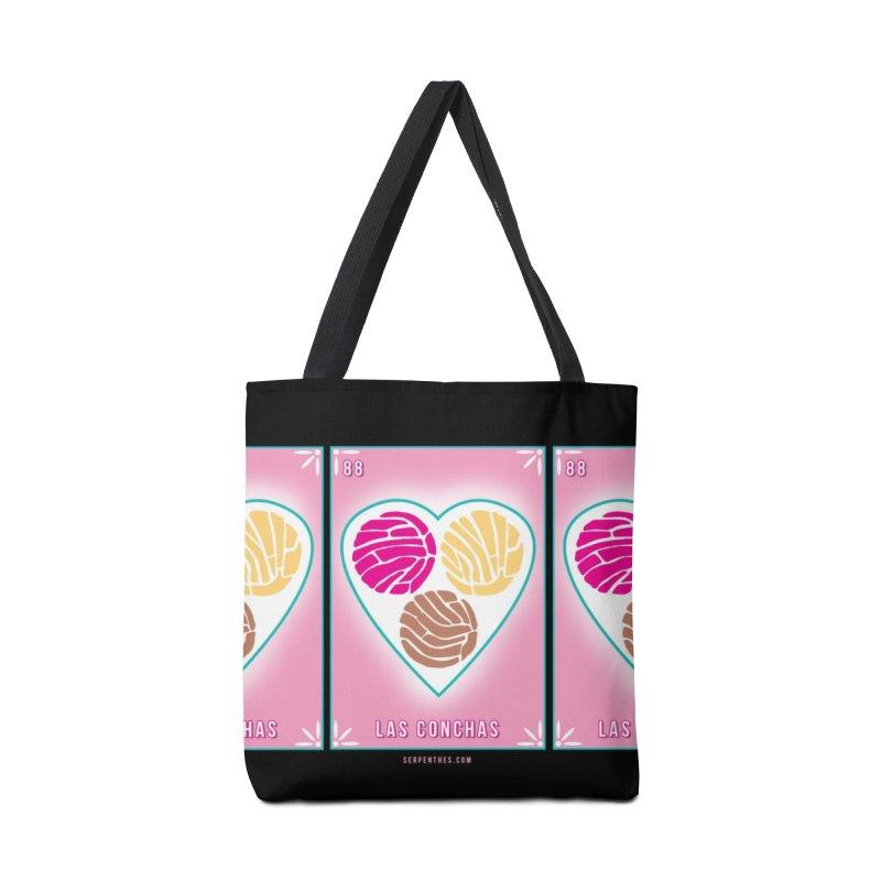 #88 LAS CONCHAS / Loteria Serpenthes Tile 88 Accessories Bag by serpenthes's Artist Shop