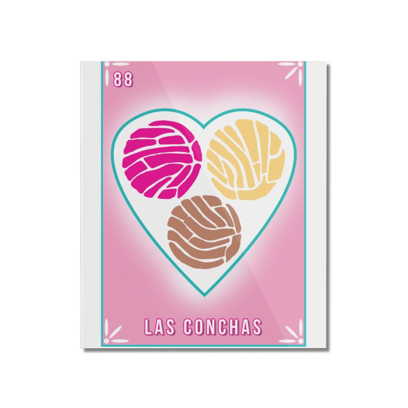 #88 LAS CONCHAS / Loteria Serpenthes Tile 88 Home Mounted Acrylic Print by serpenthes's Artist Shop