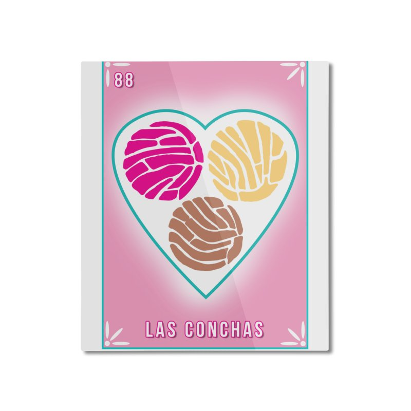 #88 LAS CONCHAS / Loteria Serpenthes Tile 88 Home Mounted Aluminum Print by serpenthes's Artist Shop