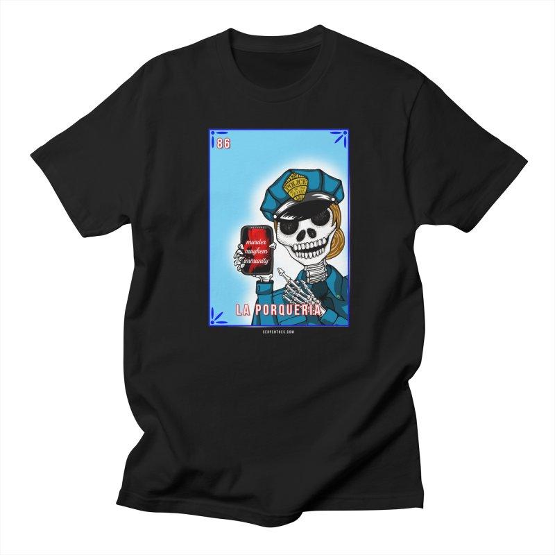 86 LA PORQUERIA / 86 THE POLICE Women's Unisex T-Shirt by serpenthes's Artist Shop