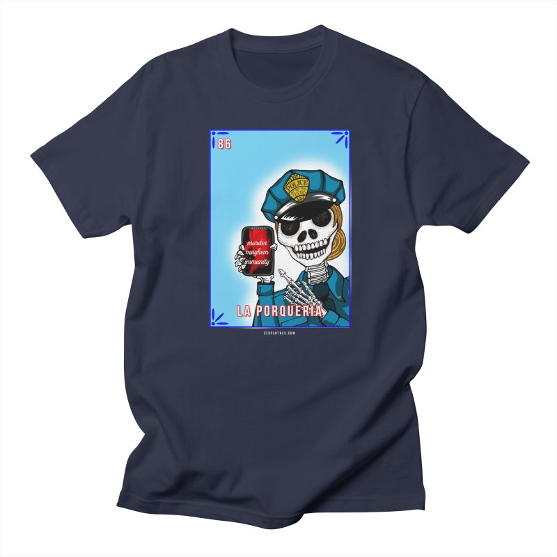 86 LA PORQUERIA / 86 THE POLICE Men's Regular T-Shirt by serpenthes's Artist Shop