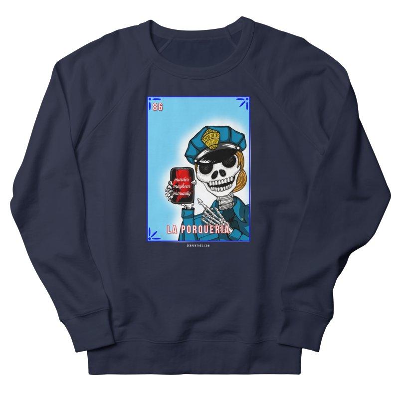 86 LA PORQUERIA / 86 THE POLICE Men's Sweatshirt by serpenthes's Artist Shop