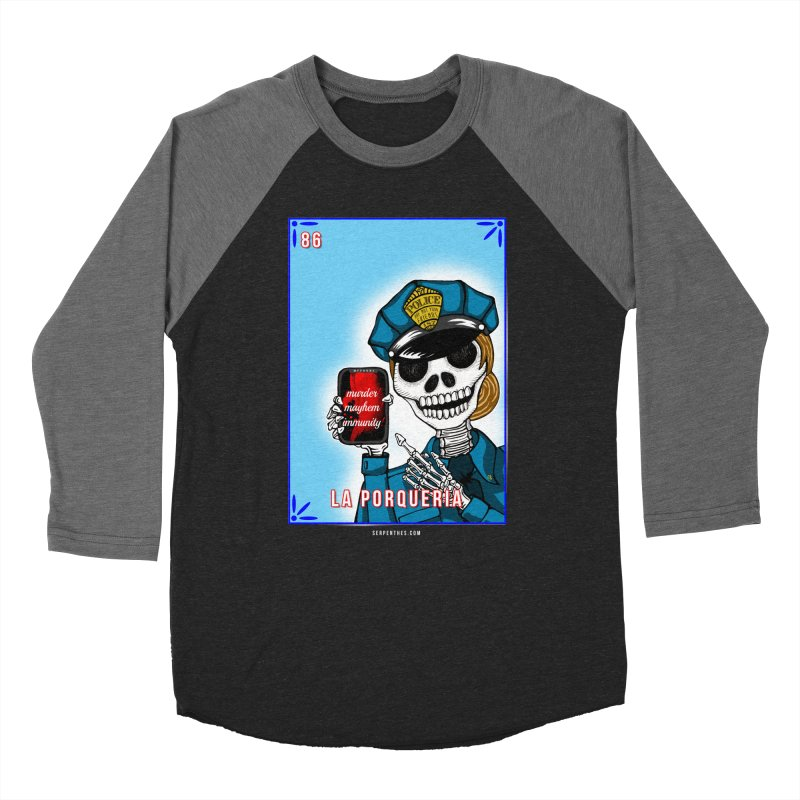 86 LA PORQUERIA / 86 THE POLICE Women's Baseball Triblend T-Shirt by serpenthes's Artist Shop