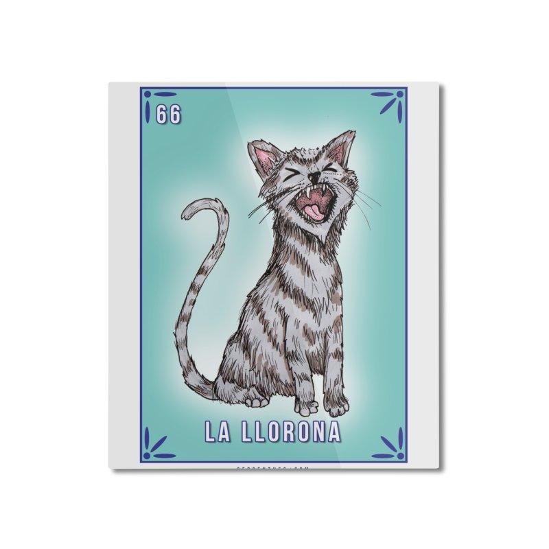66 LA LLORONA / Serpenthes Loteria Tile #66 Home Mounted Aluminum Print by serpenthes's Artist Shop