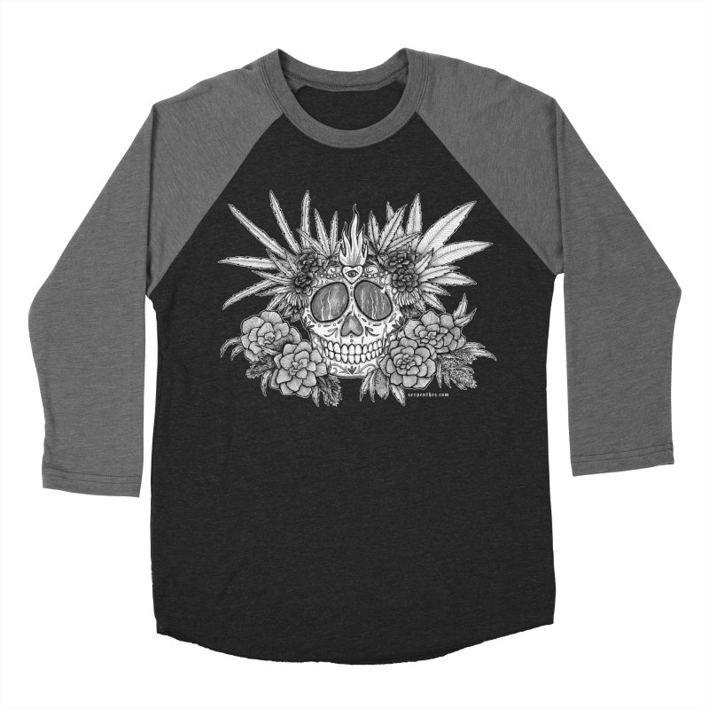 420 Women's Baseball Triblend Longsleeve T-Shirt by serpenthes's Artist Shop
