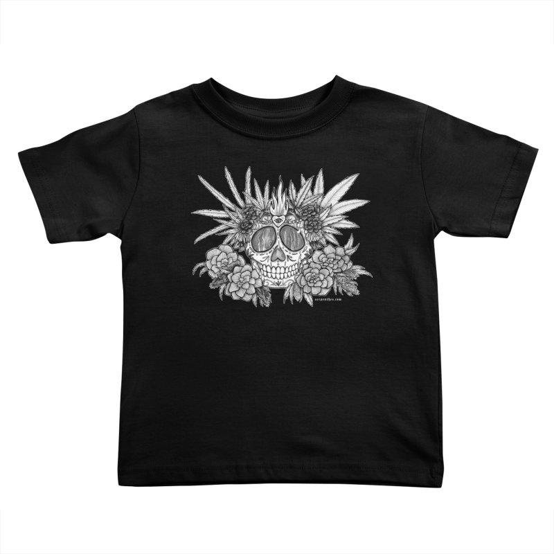 420 Kids Toddler T-Shirt by serpenthes's Artist Shop
