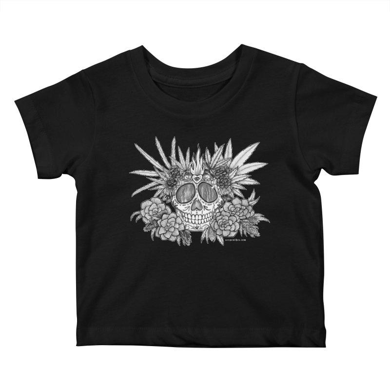420 Kids Baby T-Shirt by serpenthes's Artist Shop