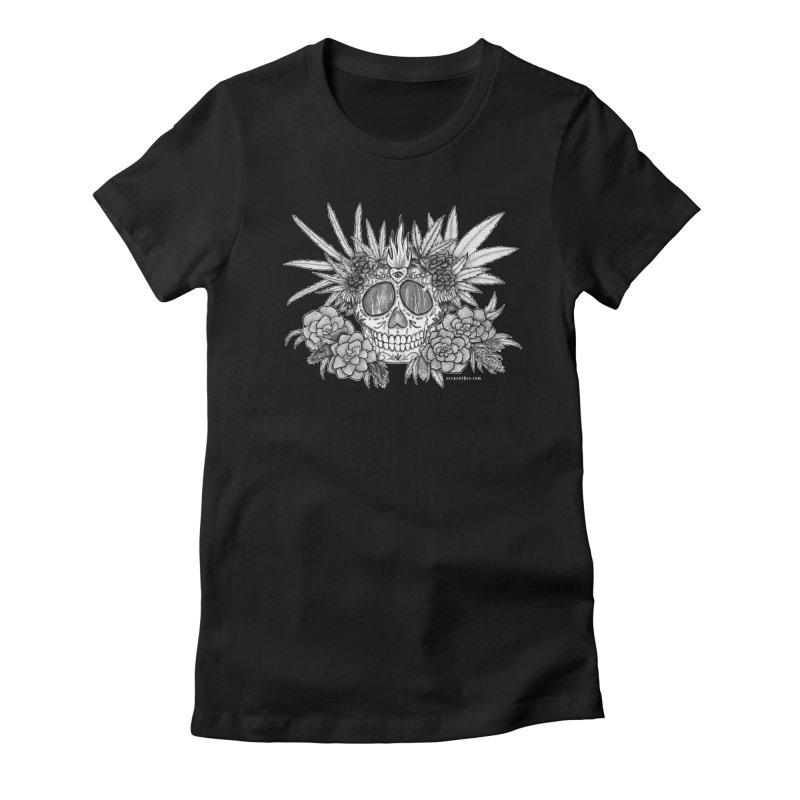 420 Women's Fitted T-Shirt by serpenthes's Artist Shop