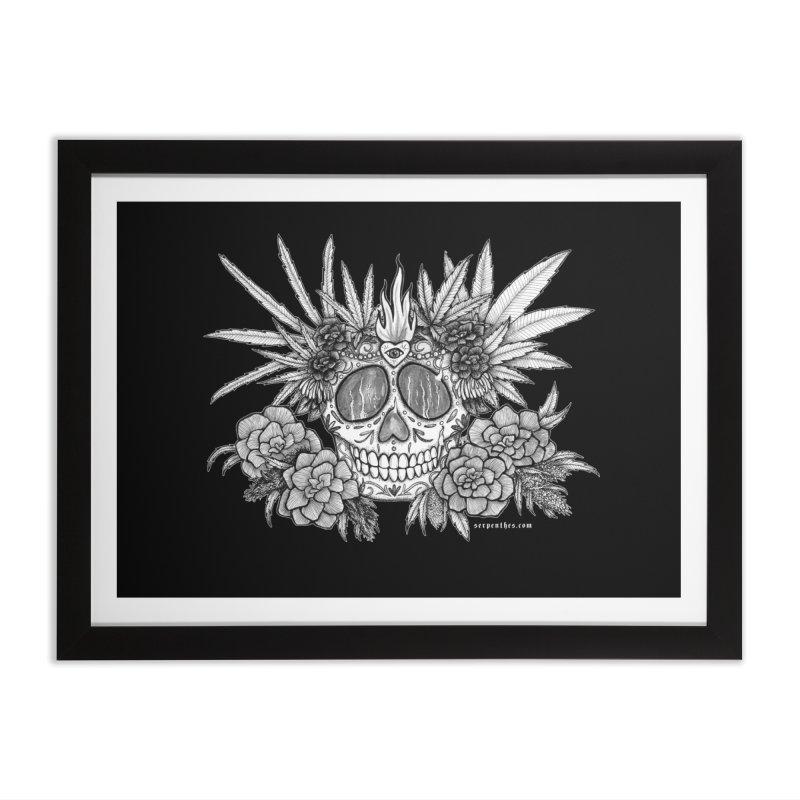 420 Home Framed Fine Art Print by serpenthes's Artist Shop