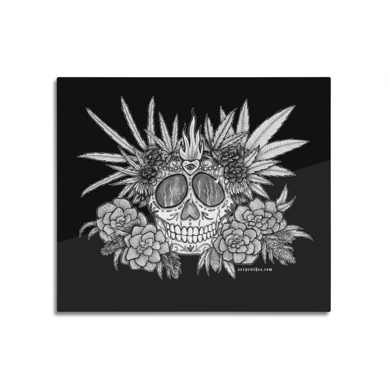 420 Home Mounted Aluminum Print by serpenthes's Artist Shop