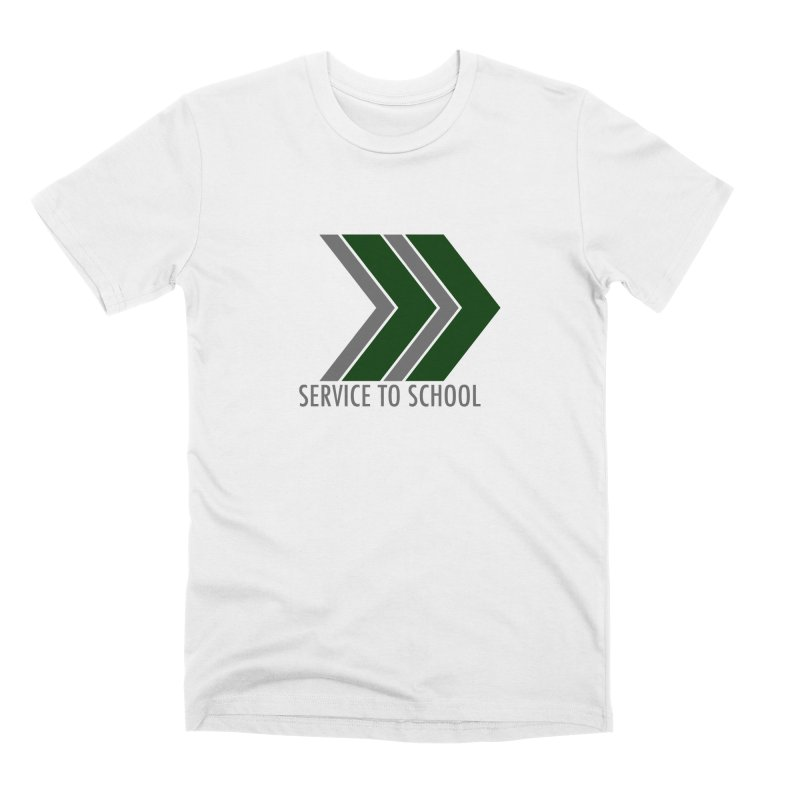 Service to School Gear Men's T-Shirt by Service to School Swag Shop