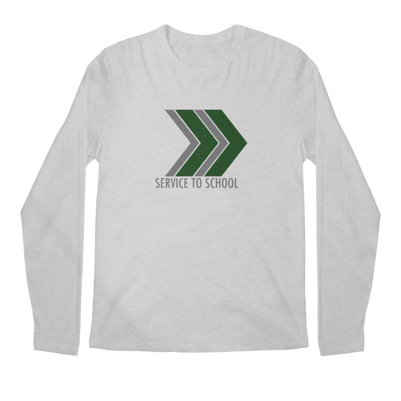 S2S Men's Regular Longsleeve T-Shirt by Service to School Swag Shop