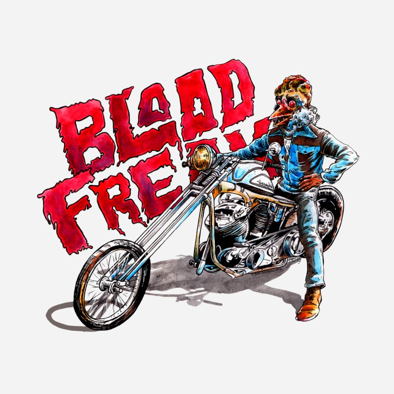 Blood Freak Easy Rider by Seth Goodkind Illustration