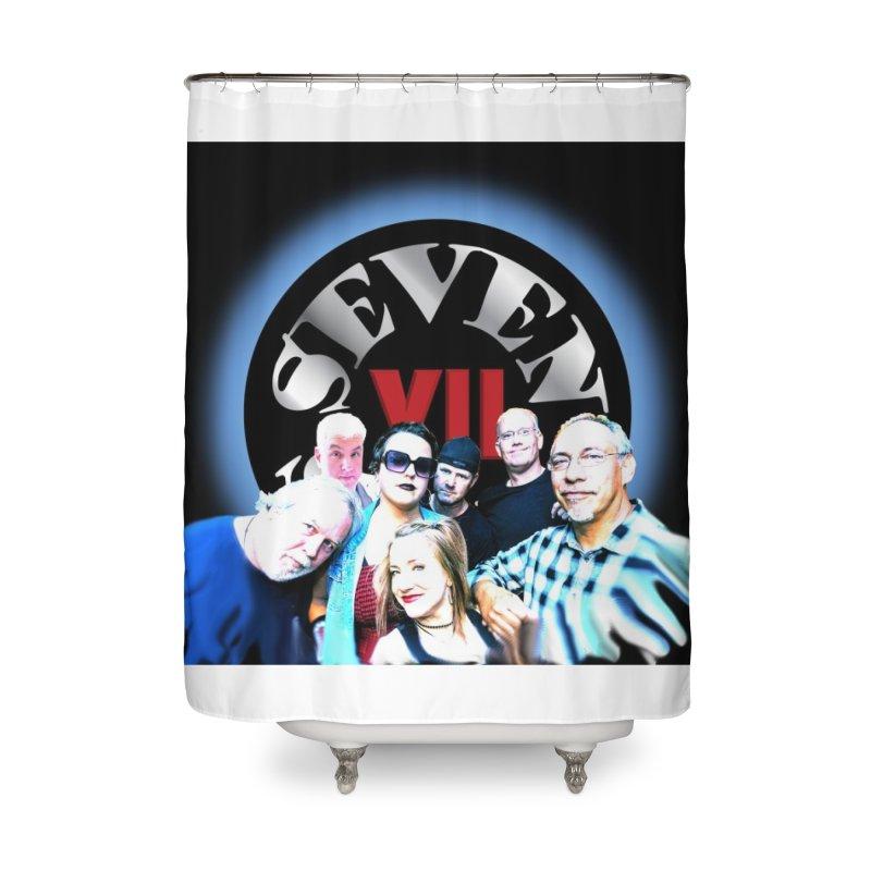 2020 Lineup Home Shower Curtain by Seven Soul Shop