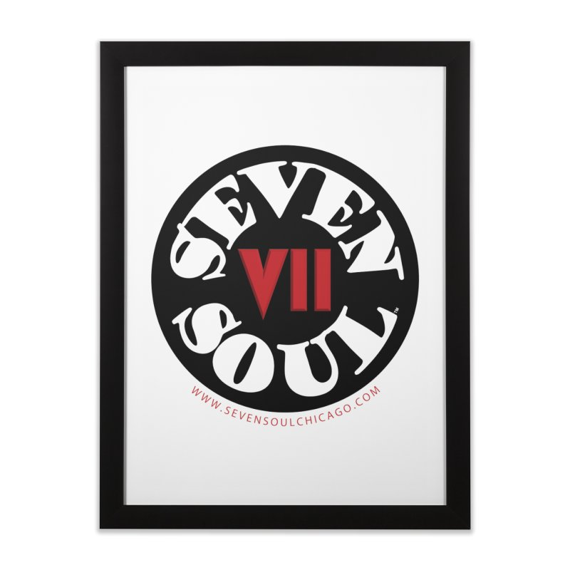 SS Retro Home Framed Fine Art Print by Seven Soul Shop