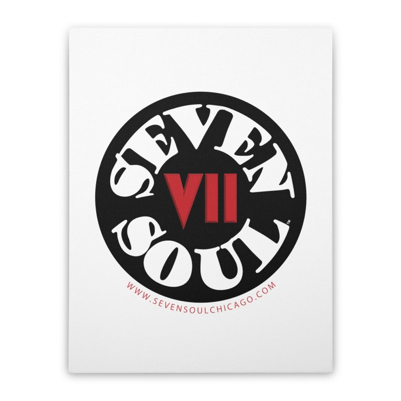 SS Retro Home Stretched Canvas by Seven Soul Shop