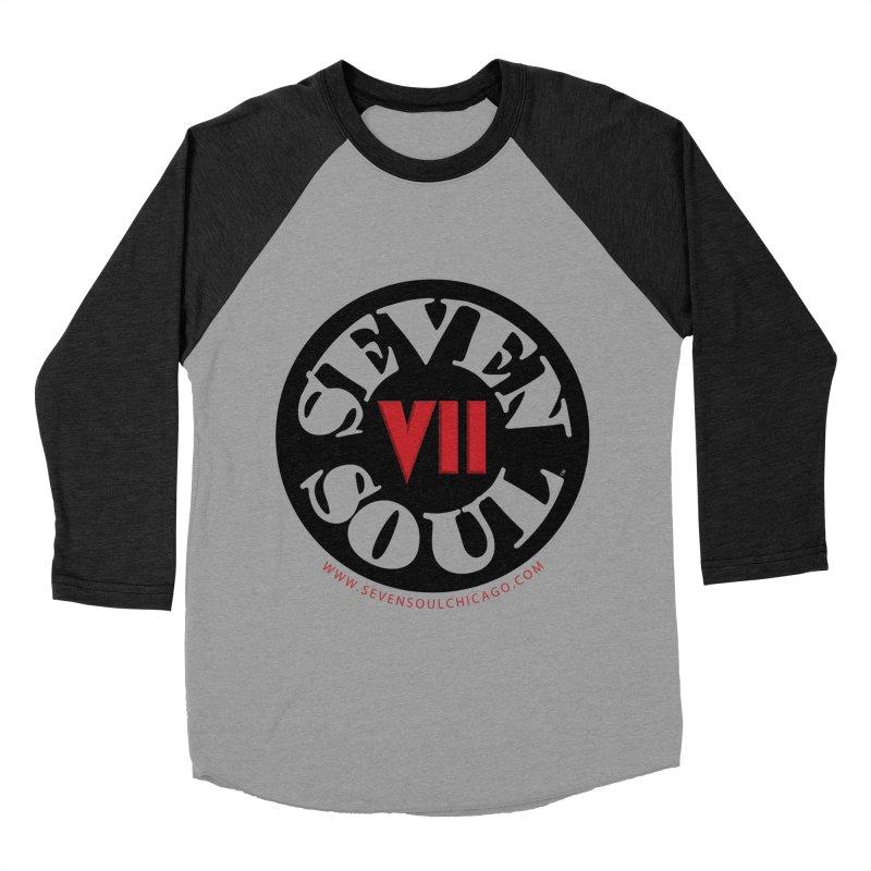 SS Retro Women's Baseball Triblend Longsleeve T-Shirt by Seven Soul Shop