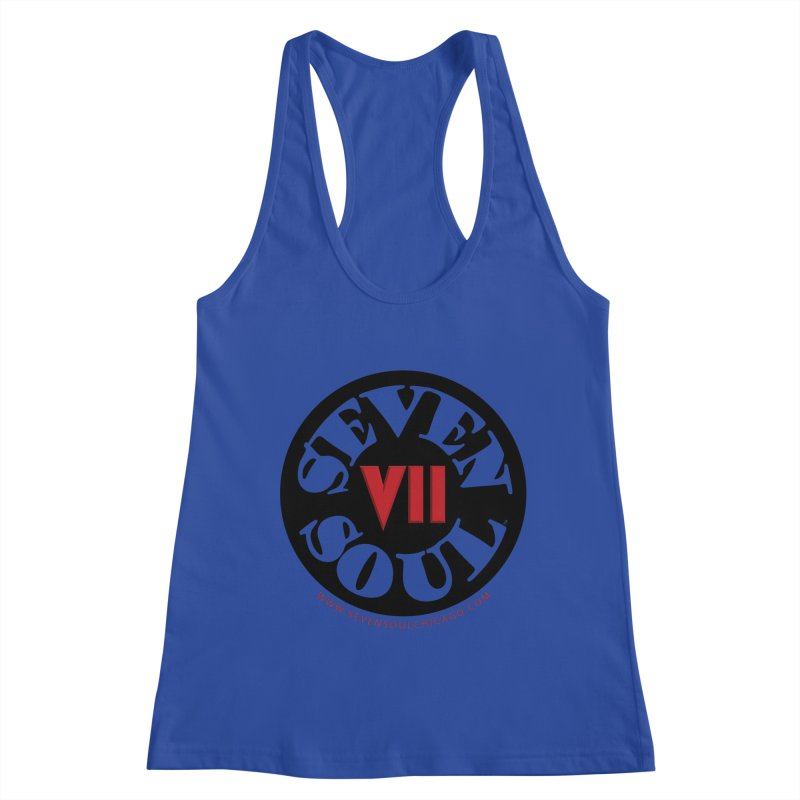 SS Retro Women's Racerback Tank by Seven Soul Shop
