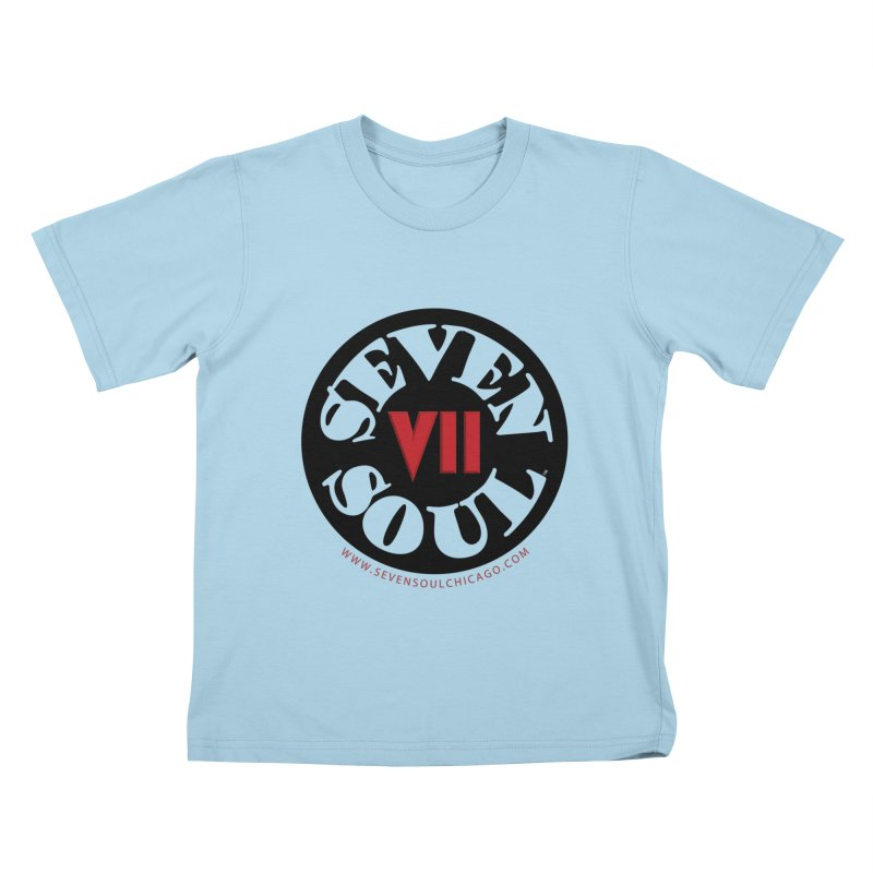 SS Retro Kids T-Shirt by Seven Soul Shop
