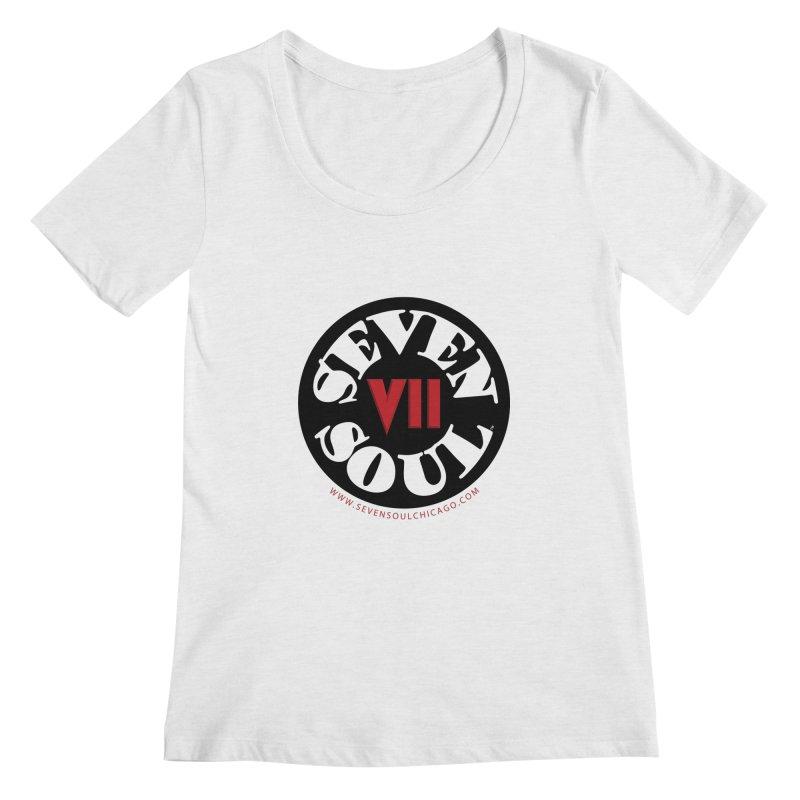 SS Retro Women's Regular Scoop Neck by Seven Soul Shop