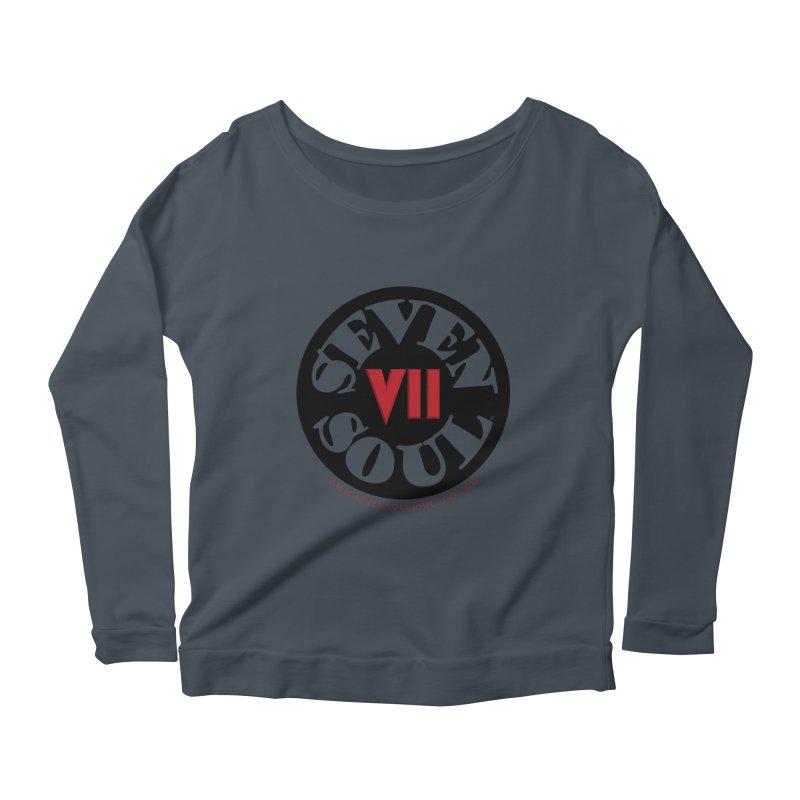 SS Retro Women's Scoop Neck Longsleeve T-Shirt by Seven Soul Shop