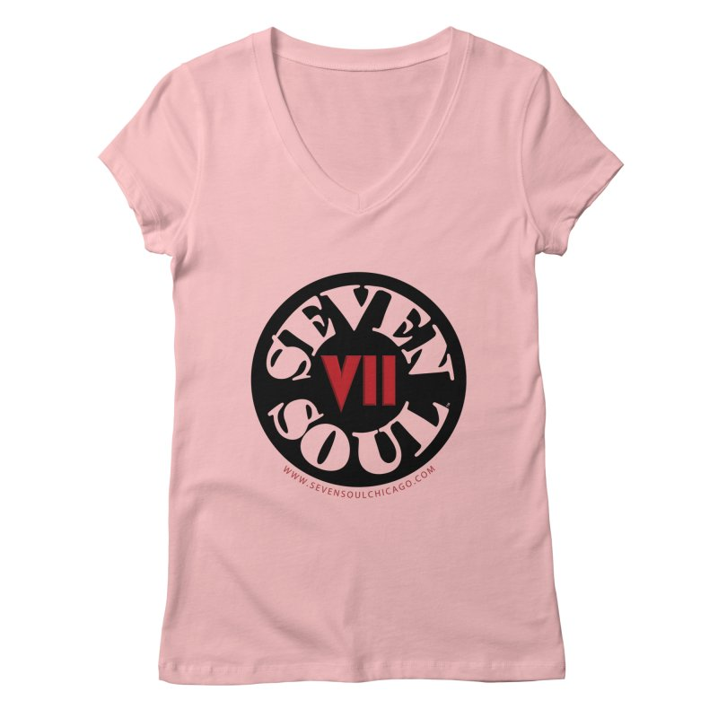 SS Retro Women's Regular V-Neck by Seven Soul Shop