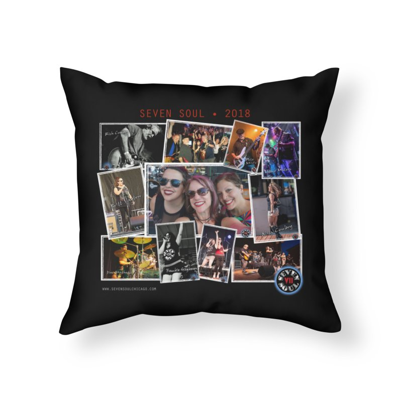 2018 Lineup Home Throw Pillow by Seven Soul Shop