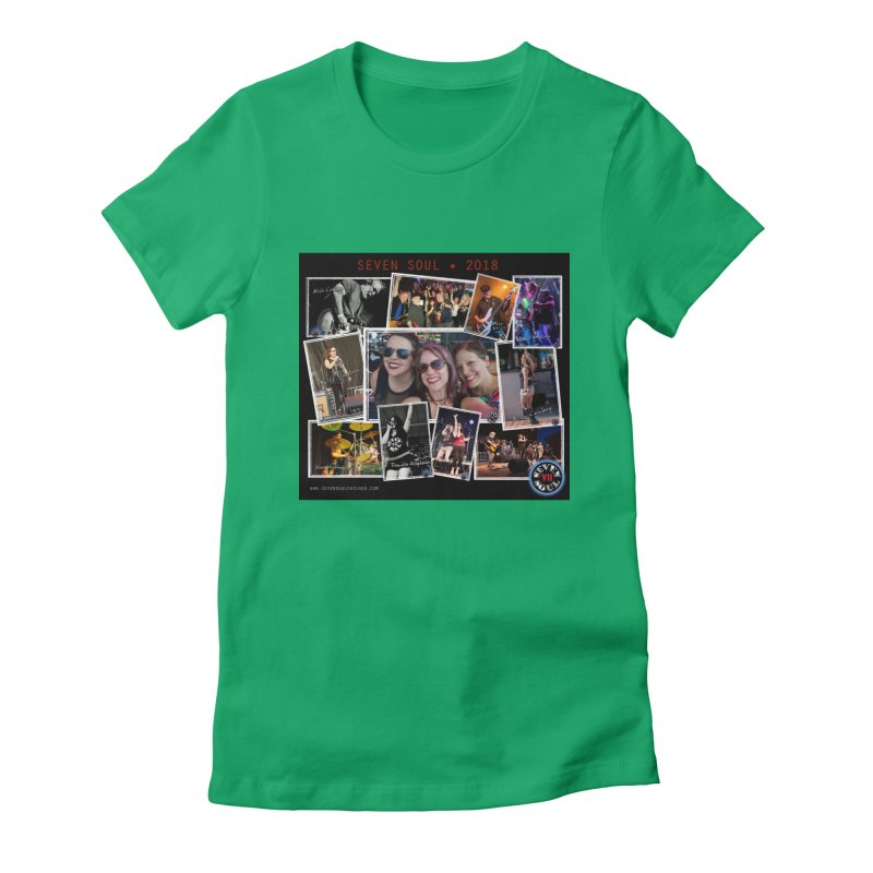 2018 Lineup Women's Fitted T-Shirt by Seven Soul Shop