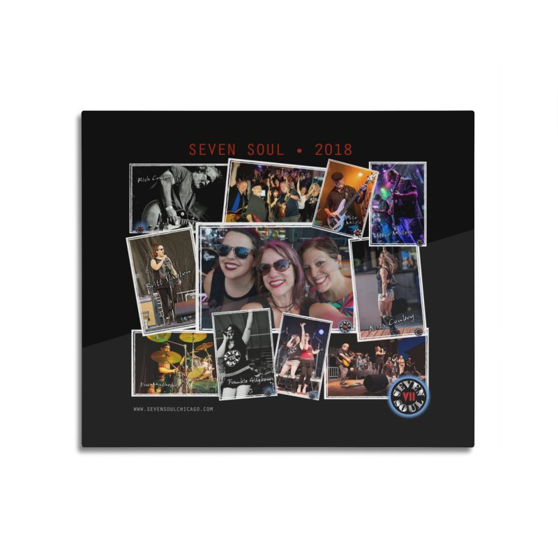 2018 Lineup Home Mounted Acrylic Print by Seven Soul Shop