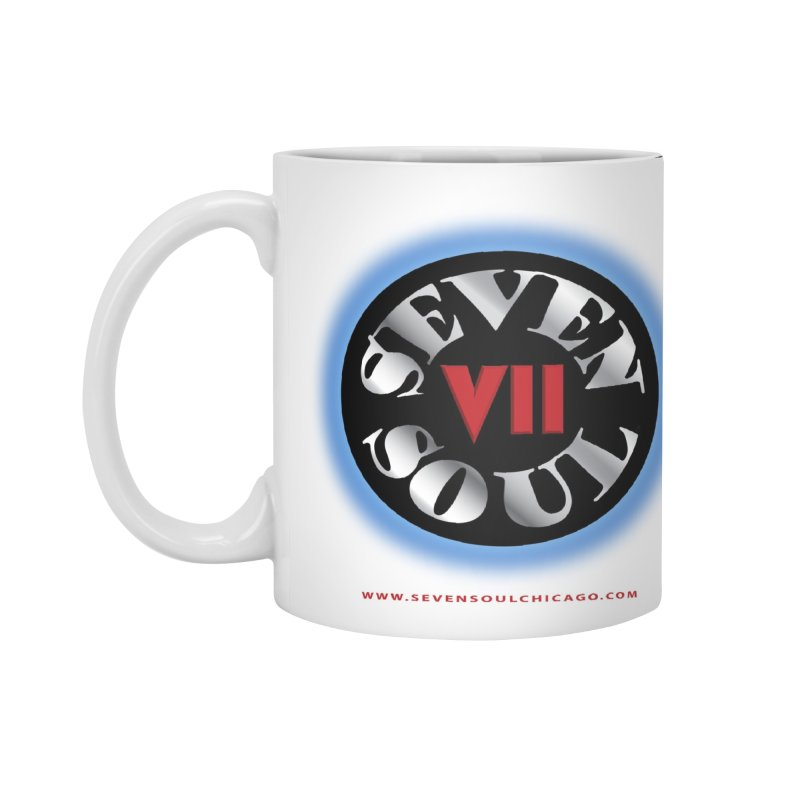 Classic Logo - Blue glow Accessories Mug by Seven Soul Shop