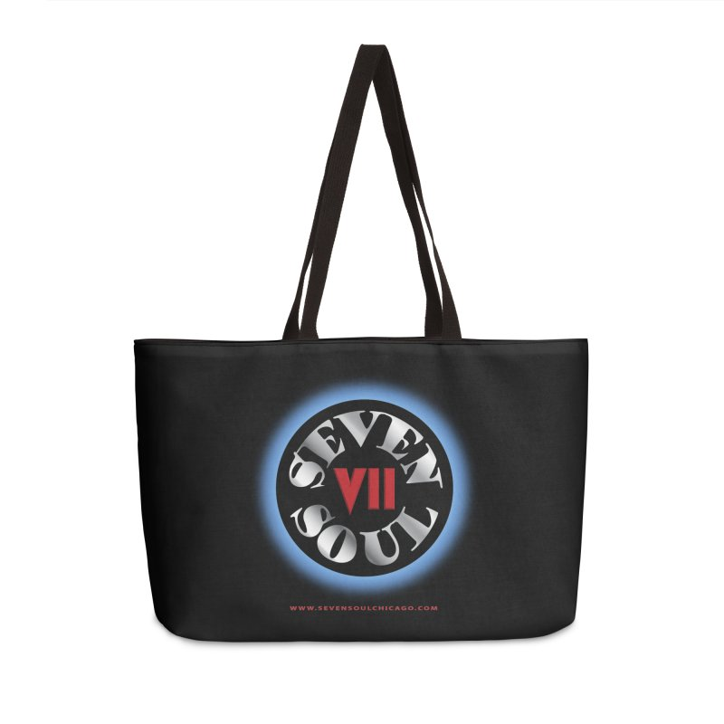 Classic Logo - Blue glow Accessories Bag by Seven Soul Shop