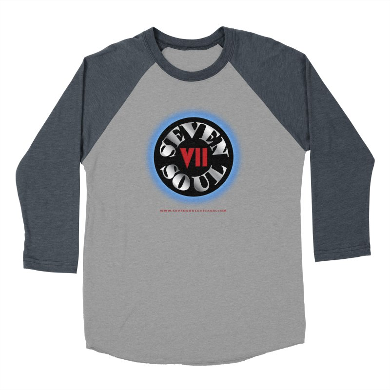 Classic Logo - Blue glow Women's Longsleeve T-Shirt by Seven Soul Shop