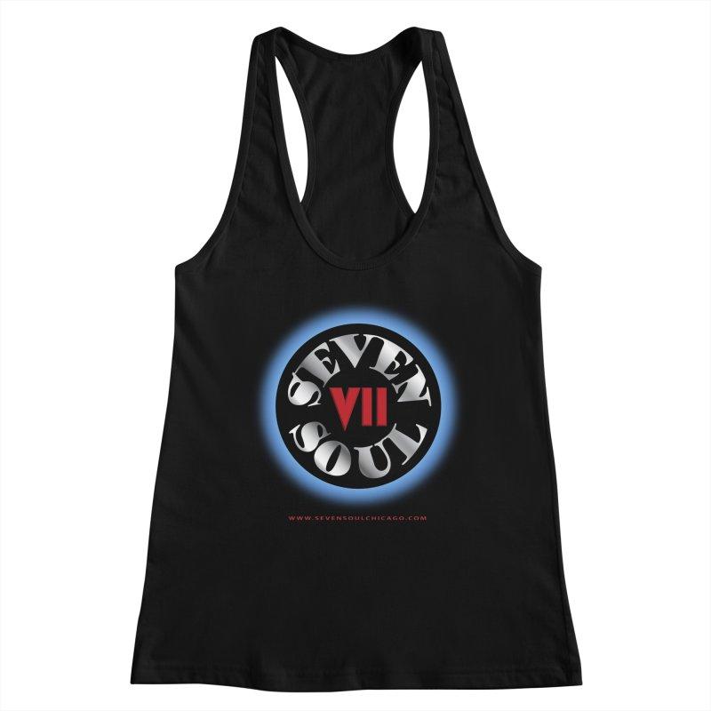 Classic Logo - Blue glow Women's Tank by Seven Soul Shop