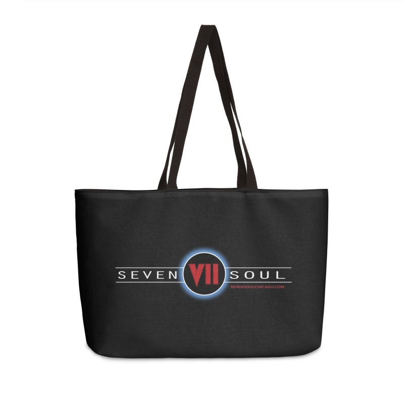 2018 Design - dark background Accessories Weekender Bag Bag by Seven Soul Shop