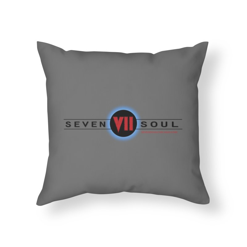 2018 Design - light background Home Throw Pillow by Seven Soul Shop