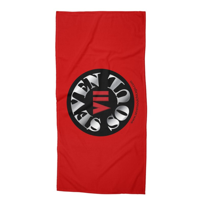 Classic Logo Accessories Beach Towel by Seven Soul Shop