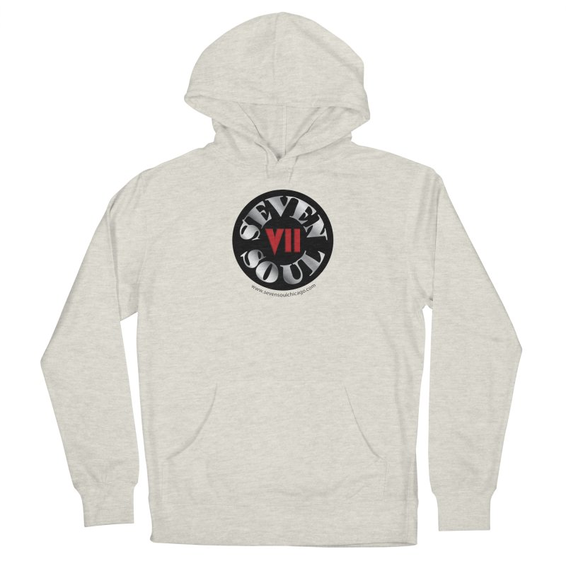 Classic Logo Women's French Terry Pullover Hoody by Seven Soul Shop